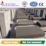 Bloque de cemento completamente automático inteligente que hace la línea