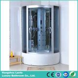 Deslizamiento en caliente de cristal Cabina de ducha con radio FM (LTS-810)