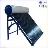 2016 precalentado a presión la bobina de cobre del tubo de vacío calentador de agua solar