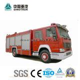 Профессиональная пожарная машина тележки огневого боя пожарной машины поставкы HOWO с типом пены воды