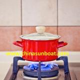 POT della minestra della vaschetta dello smalto di Sunboat piccolo che cucina il fornello di induzione del gas delle tagliatelle