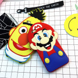 Toy engraçado Collction Mario super 3D Cartton bonito Argumento Cover para o iPhone Models