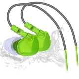 Qkz F1 Sports Fones de Ouvido Que Funcionam à Prova D ' Água Sweatproof IPX5 com Mic In Ear Gancho Música Headset Estéreo Móvel Baixo Sports - Fi