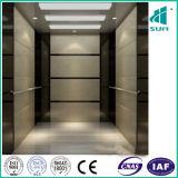 L'ascenseur handicapé avec de l'acier de miroir