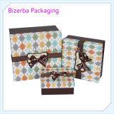 Productos de encargo que empaquetan el rectángulo de regalo