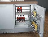 Gabinete de cozinha elevado da mobília da cozinha do mais baixo preço do lustro