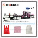 Sac non-tissé de gilet de tissu d'excellente qualité faisant la machine Zxl-A700