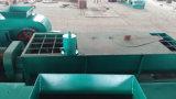 O dobro energy-saving encena a maquinaria do tijolo da argila