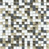 Style rustico Ice Crackle Ceramic & Glass Mosaic con Aluminum Alloy