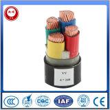 Conductor de cobre, PVC aislado, cables Un-Armoured, código de cable Yy