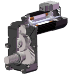 Motore di sollevamento di controllo di frequenza per la gru