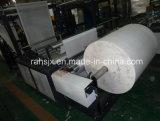 Saco não tecido inteiramente automático da caixa que faz a máquina