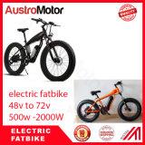 Bicicleta gorda 500W 8000W 350W de Fatbike da conversão elétrica da bicicleta