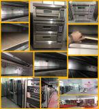 Digitaal 1 Dek 3 Oven Van uitstekende kwaliteit van het Gas van Dienbladen de Commerciële voor Cake