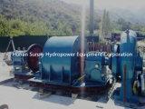 Middelgrote en Kleine Generator, de Eenheid van de Turbogenerator, de HydroTurbogenerator/Turbine van de Waterkracht
