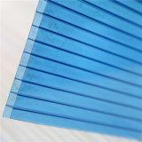 лист поликарбоната Твиновск-Стены светлой передачи 4 mm высокий