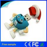 Lecteur flash USB 1GB 2GB 4GB 8GB 16GB 32GB 64GB de PVC d'OEM