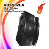 """Linha passiva altofalantes de Vrx932la 12 """" da disposição, sistema de som do altofalante"""