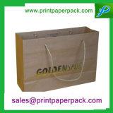 Sacchetto standard della maniglia del regalo della carta kraft di prezzi bassi