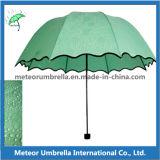 Guarda-chuva de dobramento da alta qualidade 3 do presente da promoção com marca de água