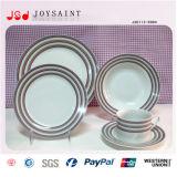 Het in het groot Onverbrekelijke Ceramische Diner Handpainting Van uitstekende kwaliteit plaatste 18 PCs