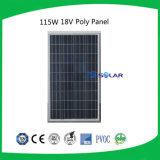 modulo solare policristallino di 115W TUV