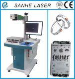 Máquina de la marca del laser de la fibra para los anillos/los relojes/difícilmente plástico