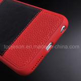 Красный цвет с iPhone 6 аргументы за неподдельной кожи Brown добавочным