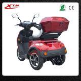 Un motorino elettrico delle 3 rotelle per gli anziani