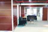 Partitions du bois intérieures personnalisées par usine de diviseur de pièce de panneautage de mur (SZ-WS632)
