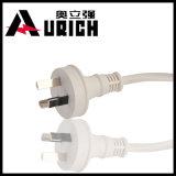 3 ZinkePin UL-aufgeführtes Wechselstrom-Netzkabel-Kabel für PC Tischrechner-Drucker-Monitor-Energien-Kabel-Netzkabel