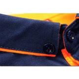 T-shirt de polo d'homme de couleur de coton de mode de robe de Shenzhen