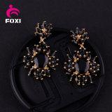 Серьги ювелирных изделий CZ способа золота 18k Wuzhou Foxi оптовые для партии женщин