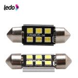 lampe d'automobile de véhicule de 36mm 6SMD 2835SMD DEL