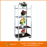 SaleのためのAceally Display Flower Trolley Cart