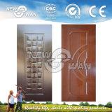 メラミンによって直面されるMDFによって形成されるドアの皮(NTE-ME5002)