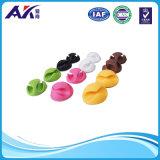 Устроитель хомутов для кабелей для Desktop шнуров питания и мобильного телефона привязывает (цвет 12 пакетов смешанный)