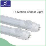 luz del tubo del tubo LED del sensor de movimiento de 10W T8