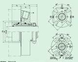 Selo mecânico do cartucho com única extremidade e a extremidade dobro Hqct não padronizado