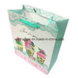 Saco de embalagem de papel impresso para vestuário e sapatos e óculos de sol
