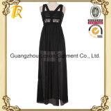 Платье повелительниц одежды способа женщин шифоновое длиннее