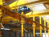 Grúa de arriba 5t viga europea eléctrica del estilo del taller de la sola