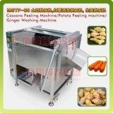 Machine d'écaillement en brosse de pomme de terre de rouleau, échelle de poissons retirant la machine
