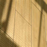 Grey oscuro Perforated Luz-amarillo Aluminum Panel para Wall Cladding/Metal Roof