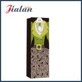 Bottle Shopping Gift der glatten lamellierten Kunstdruckpapier-Dame Papierbeutel