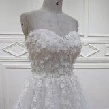 SL609きれいな恋人の夜会服の花嫁のウェディングドレス2016年
