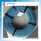 Diamante Wire Saw Cutting per Marble Profiling e Square Cutting