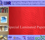 Gift Box를 위한 호화스러운 Embossed Wrapping Paper/Art Paper & Paper Bag Use (No. A8Y006)
