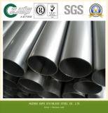 ASTM 304, 316, tubo del acero inoxidable de 321 círculos