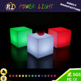 Colorido control LED Cubo Asiento Remueva